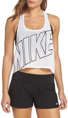 Nike Mesh Crop Top Cover-Up