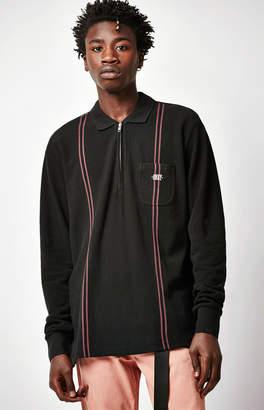 Obey Sidestep Long Sleeve Polo Shirt