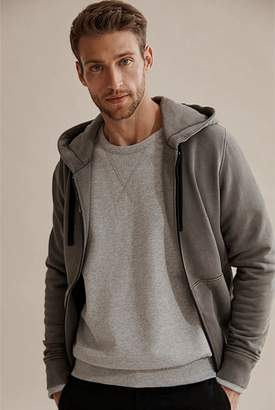 Country Road Garment Dyed Zip Through Sweat