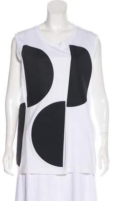 Marni Polka Dot Sleeveless Top