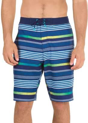 Speedo Men's Ingrain Stripe Board Shorts