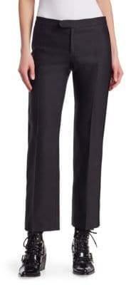 Chloé Tuxedo Straight Leg Trousers