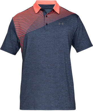 d66ca082b20fa1 Under Armour Men Shoulder Striped Playoff Polo