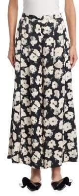 Proenza Schouler Floral Wide Leg Pants