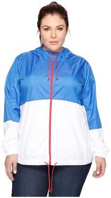 Columbia Plus Size Flash Forward Windbreaker Women's Coat