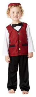 F&F Traditional Welsh Boy St. Davids Day Costume 5-6 years