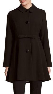 Kate SpadeFlared Belted Coat