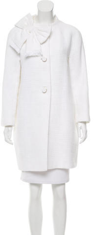 Kate Spade Kate Spade New York Tweed Knee-Length Coat