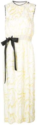 Yigal Azrouel daffodil feather coupe dress