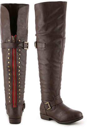 Journee Collection Kane Wide Calf Over The Knee Boot - Women's