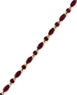 Effy Bordeaux by Rhodolite Garnet Tennis Bracelet (16-1/3 ct. t.w.) in 14k Rose Gold
