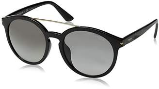 Vogue Women's Injected Woman Sunglass Round