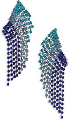 Leith Opulent Crystal Drop Earrings