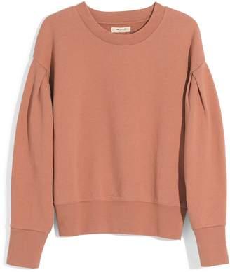 Madewell Pleat Sleeve Sweatshirt