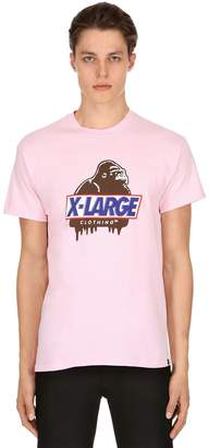 XLarge Hungry Og Printed Cotton Jersey T-Shirt