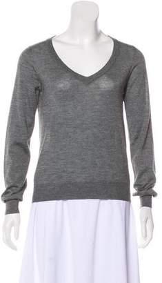 Maison Margiela Long Sleeve Cashmere Top