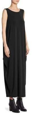Issey Miyake Drape Jersey Shift Dress