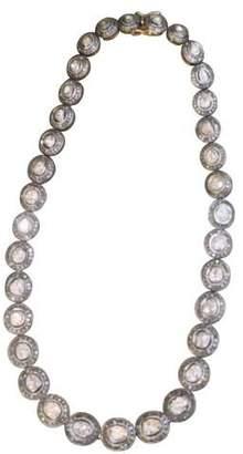 S. Carter Designs S Carter Designs rosecut diamond choker (Default)