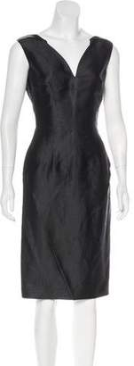 CNC Costume National Midi Sheath Dress