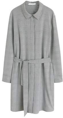 Violeta BY MANGO Prince of Wales dress