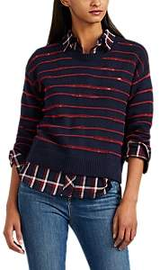Rag & Bone Women's Striped Stockinette-Stitched Boxy Sweater