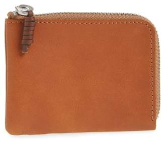 J.Crew Leather Zipper Wallet