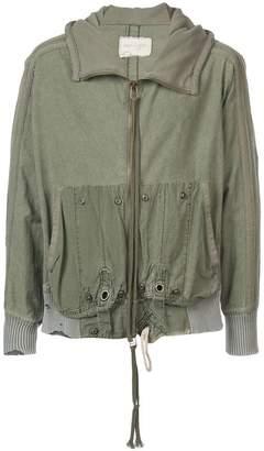 Greg Lauren hooded jacket