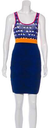 Yigal Azrouel Cut25 by Printed Bodycon Dress
