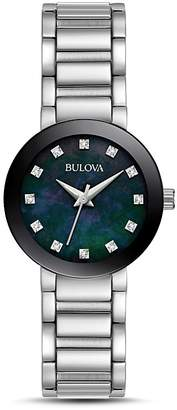 Bulova Modern Round Watch, 26mm $299 thestylecure.com
