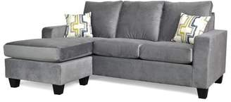 Mercury Row Morpheus Reversible Sectional with Ottoman Upholstery