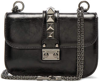 Valentino Noir Small Lock Shoulder Bag
