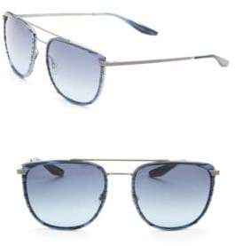 Barton Perreira Lafayette 56MM Square Sunglasses