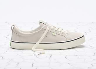 Cariuma OCA Low Stripe Off White Suede Sneaker Women