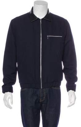 Patrik Ervell Wool-Blend Zip Jacket