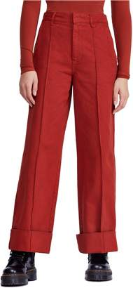 BDG Urban Outfitters Deep Cuff Wide Leg Pants