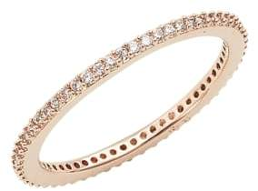 Nadri Skinny Cubic Zirconia Pave Band Ring