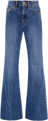 Co High-Waisted Wide-Leg Jeans