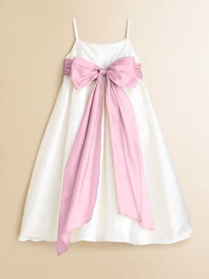 Us Angels Toddler's & Little Girl's Silky Taffeta Dress