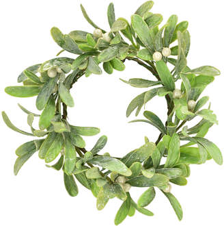 Mills Floral Set Of 6 Merry Mistletoe Rings