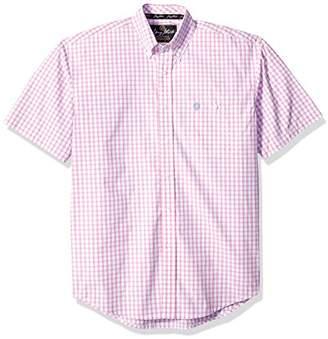 Wrangler Men's George Strait One Pocket Short Sleeve Woven Shirt