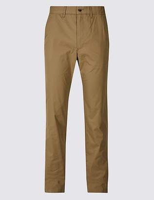 Marks and Spencer Cotton Rich Slim Fit Chinos