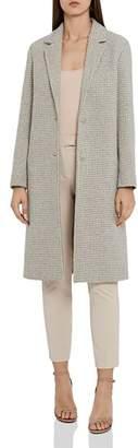 Reiss Bentley Checked Overcoat