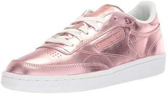 Reebok Women's Club C 85 S Shine Sneaker
