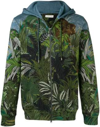 Etro Jungle print bomber jacket