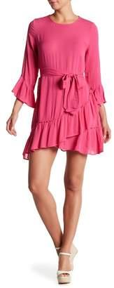 Vero Moda Bell Sleeve Mini Dress