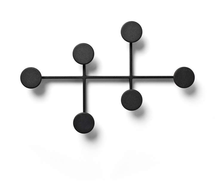 Menu - Afteroom Kleiderhaken, Schwarz