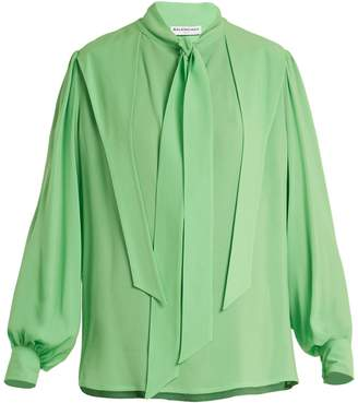 Balenciaga Gathered blouse