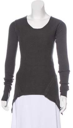 Rick Owens Cashmere Asymmetrical Sweater