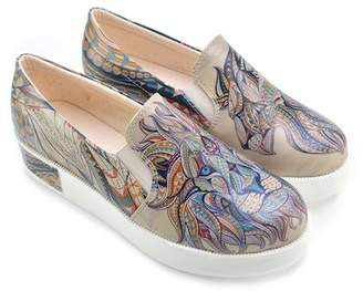 Goby Mixed Print Slip-On Sneaker