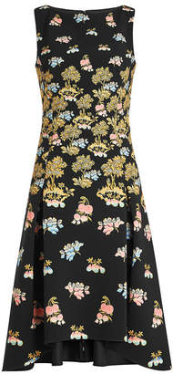 Peter Pilotto Printed Cady Dress
